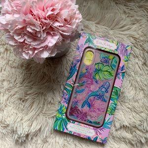 Lilly Pulitzer Mermaid Glitter iPhone Case X/XS